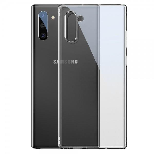 Husa Spate Originala Baseus Simple Samsung Galaxy Note 10 Transparenta Cu Tehnologie Air-cushion imagine itelmobile.ro 2021