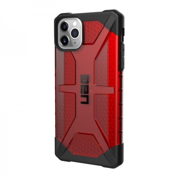 Husa Premium Originala Uag Plasma iPhone 11 Pro Magma imagine itelmobile.ro 2021