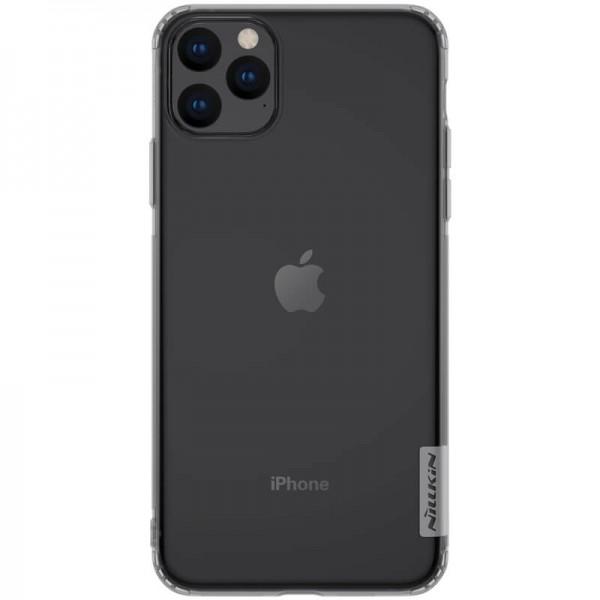 Husa Spate Ultra Slim Nillkin Nature iPhone 11 Pro Max Transparenta imagine itelmobile.ro 2021