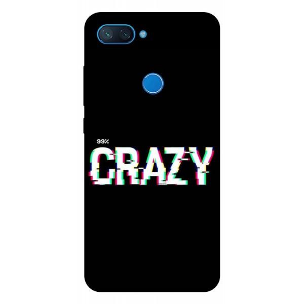 Husa Premium Upzz Print Xiaomi Mi 8 Lite Model Crazy imagine itelmobile.ro 2021