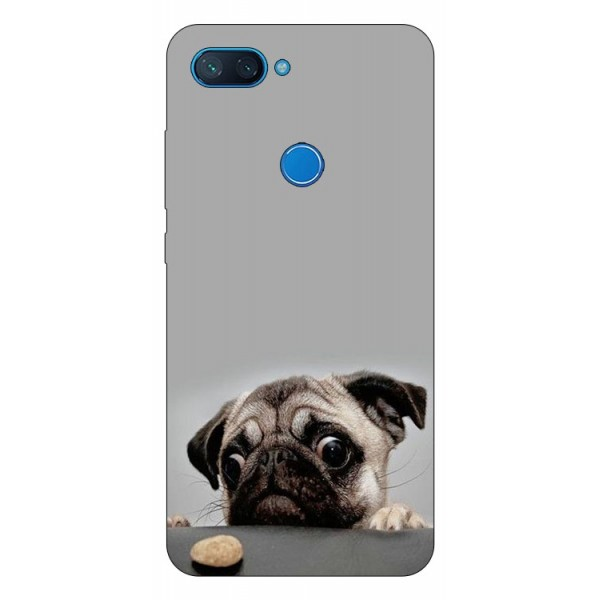 Husa Premium Upzz Print Xiaomi Mi 8 Lite Model Dog imagine itelmobile.ro 2021