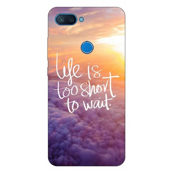 Husa Premium Upzz Print Xiaomi Mi 8 Lite Model Life imagine itelmobile.ro 2021