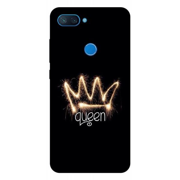 Husa Premium Upzz Print Xiaomi Mi 8 Lite Model Queen imagine itelmobile.ro 2021