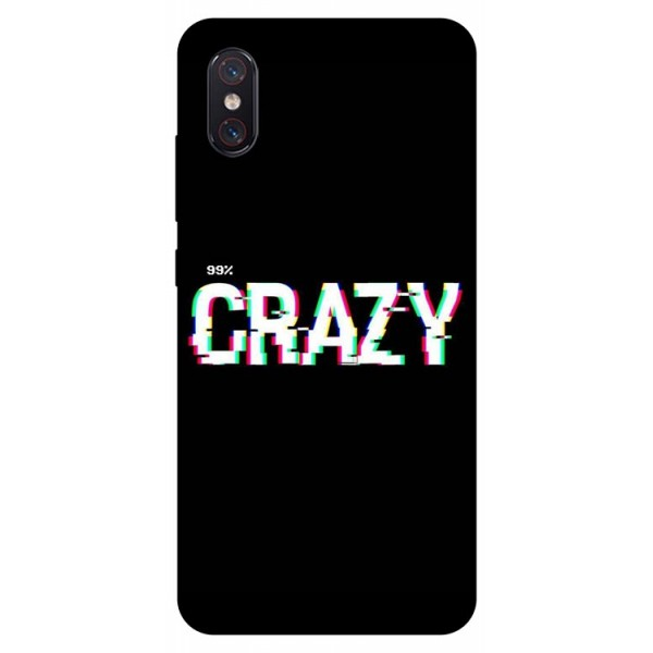 Husa Premium Upzz Print Xiaomi Mi 8 Pro Model Crazy imagine itelmobile.ro 2021