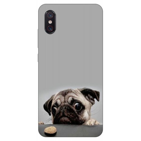 Husa Premium Upzz Print Xiaomi Mi 8 Pro Model Dog imagine itelmobile.ro 2021