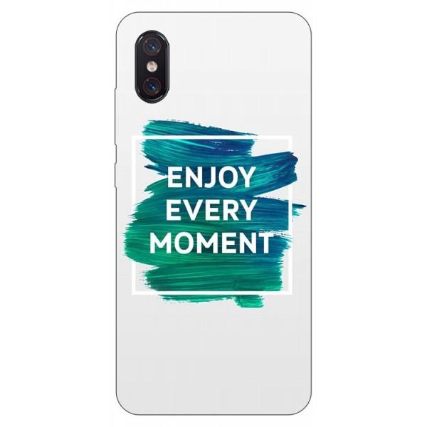 Husa Premium Upzz Print Xiaomi Mi 8 Pro Model Enjoy imagine itelmobile.ro 2021