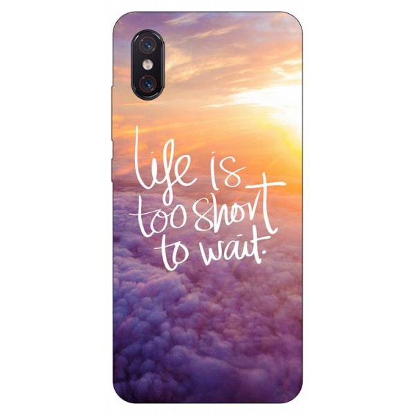 Husa Premium Upzz Print Xiaomi Mi 8 Pro Model Life imagine itelmobile.ro 2021