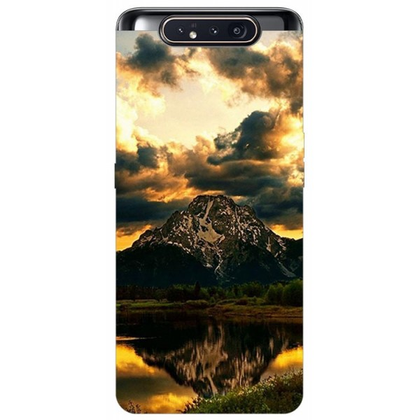 Husa Premium Upzz Print Samsung Galaxy A80 Model Apus imagine itelmobile.ro 2021