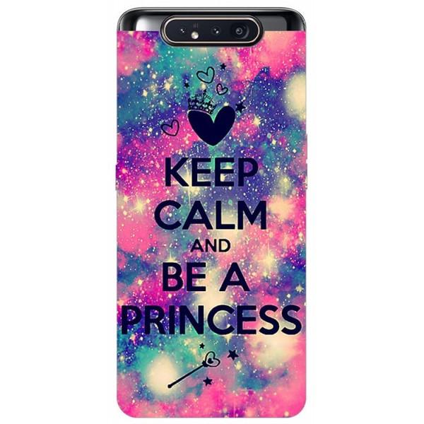 Husa Premium Upzz Print Samsung Galaxy A80 Model Be Princess imagine itelmobile.ro 2021