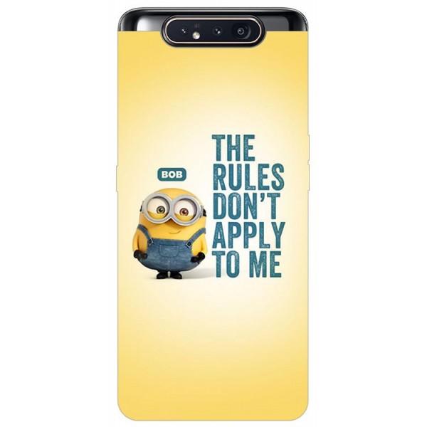 Husa Premium Upzz Print Samsung Galaxy A80 Model Bob imagine itelmobile.ro 2021