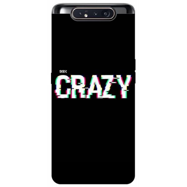 Husa Premium Upzz Print Samsung Galaxy A80 Model Crazy imagine itelmobile.ro 2021