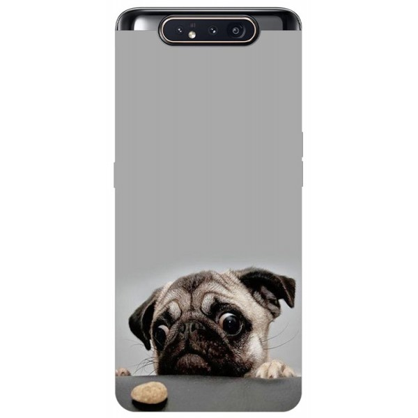 Husa Premium Upzz Print Samsung Galaxy A80 Model Dog imagine itelmobile.ro 2021