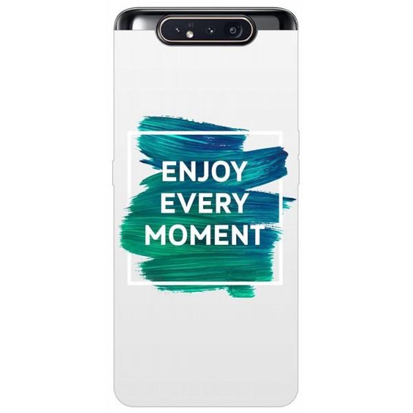 Husa Premium Upzz Print Samsung Galaxy A80 Model Enjoy imagine itelmobile.ro 2021