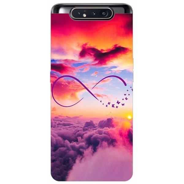 Husa Premium Upzz Print Samsung Galaxy A80 Model Infinity imagine itelmobile.ro 2021