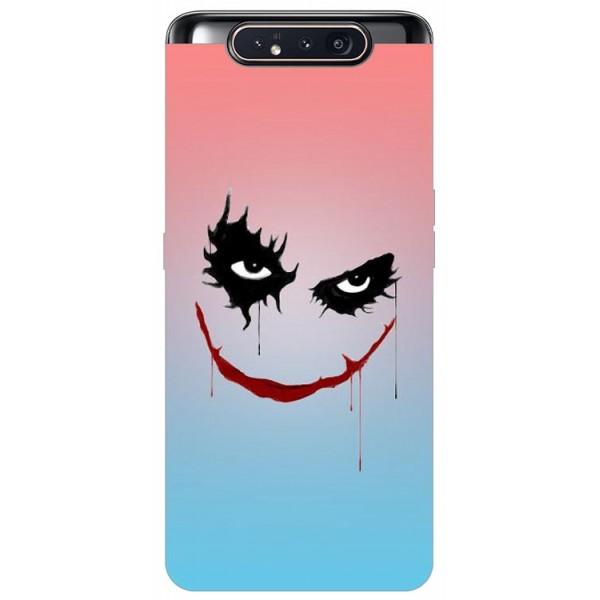Husa Premium Upzz Print Samsung Galaxy A80 Model Joker imagine itelmobile.ro 2021