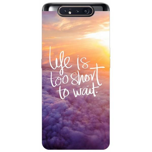 Husa Premium Upzz Print Samsung Galaxy A80 Model Life imagine itelmobile.ro 2021
