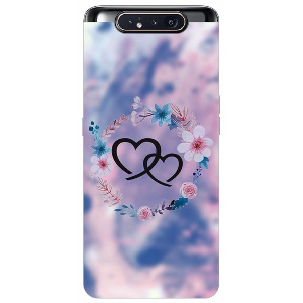 Husa Premium Upzz Print Samsung Galaxy A80 Model Love imagine itelmobile.ro 2021
