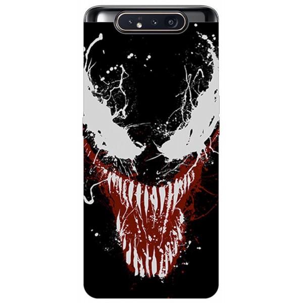 Husa Premium Upzz Print Samsung Galaxy A80 Model Monster imagine itelmobile.ro 2021