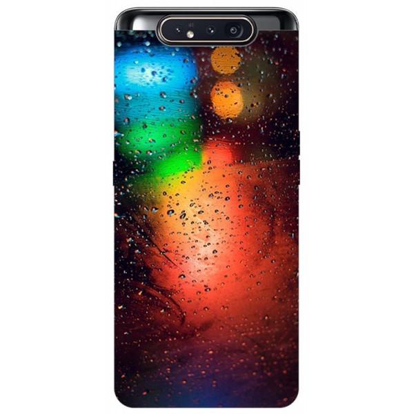 Husa Premium Upzz Print Samsung Galaxy A80 Model Multicolor imagine itelmobile.ro 2021