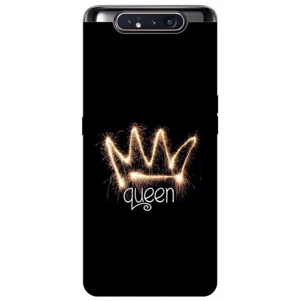 Husa Premium Upzz Print Samsung Galaxy A80 Model Queen imagine itelmobile.ro 2021