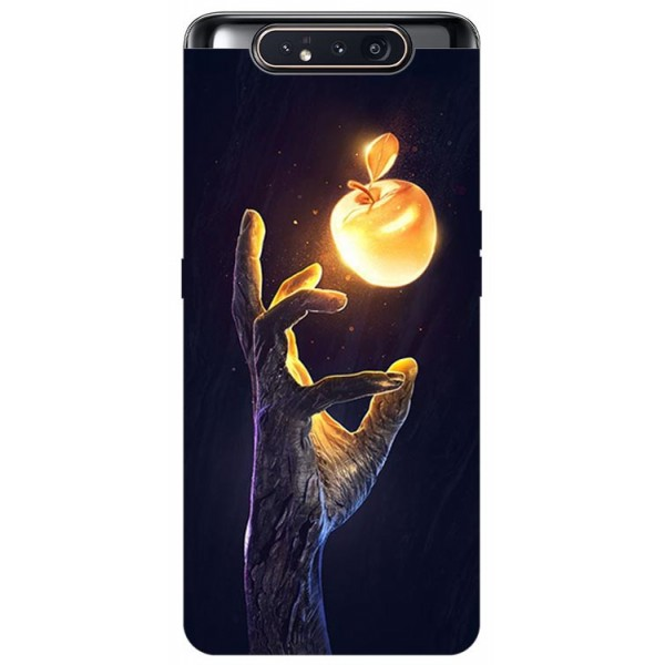 Husa Premium Upzz Print Samsung Galaxy A80 Model Reach imagine itelmobile.ro 2021