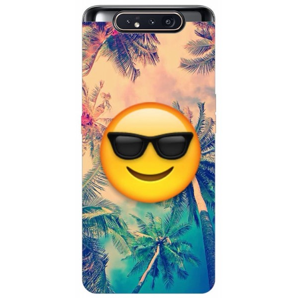Husa Premium Upzz Print Samsung Galaxy A80 Model Smile imagine itelmobile.ro 2021