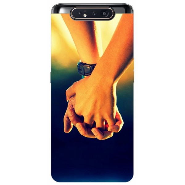 Husa Premium Upzz Print Samsung Galaxy A80 Model Together imagine itelmobile.ro 2021