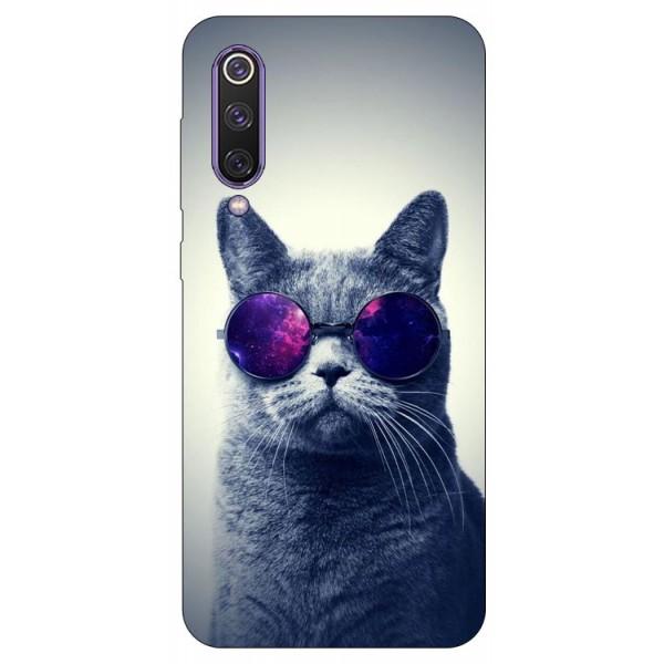Husa Premium Upzz Print Xiaomi Mi 9 Se Model Cool Cat imagine itelmobile.ro 2021