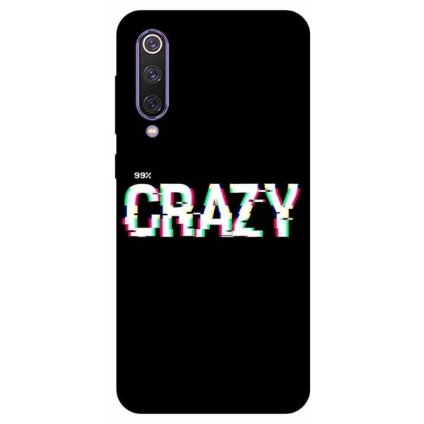 Husa Premium Upzz Print Xiaomi Mi 9 Se Model Crazy imagine itelmobile.ro 2021