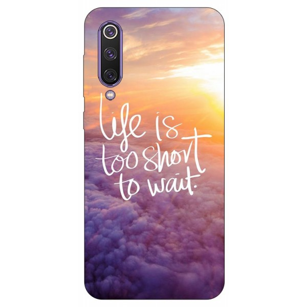 Husa Premium Upzz Print Xiaomi Mi 9 Se Model Life imagine itelmobile.ro 2021