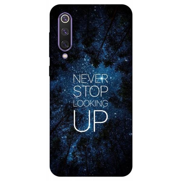 Husa Premium Upzz Print Xiaomi Mi 9 Se Model Never Stop imagine itelmobile.ro 2021