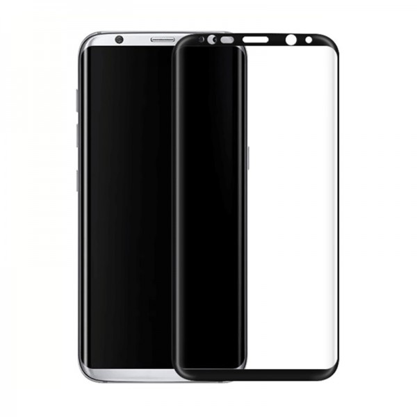 Folie Sticla Securizata 9h 3d Full Cover Samsung S8 Plus G955f Black imagine itelmobile.ro 2021