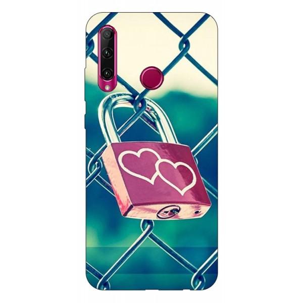 Husa Premium Upzz Print Huawei Honor 20 Lite Model Heart Lock imagine itelmobile.ro 2021
