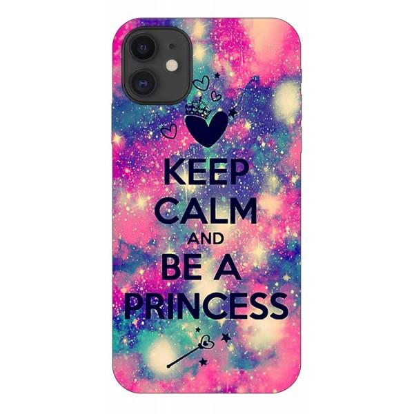Husa Premium Upzz Print iPhone 11 Model Be Princess imagine itelmobile.ro 2021