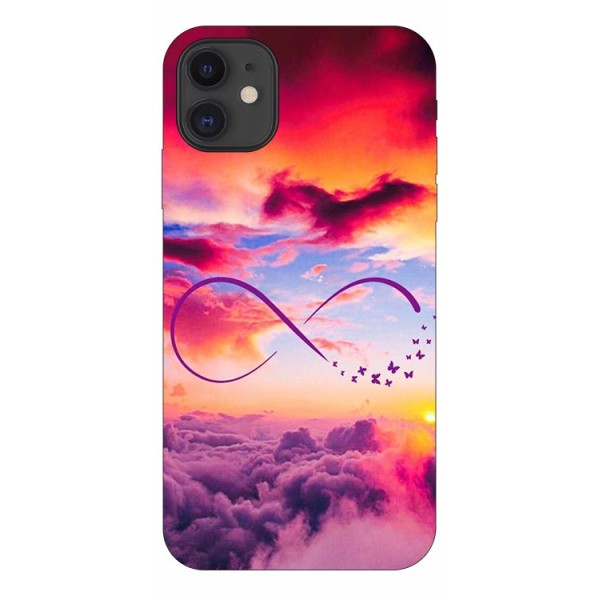 Husa Premium Upzz Print iPhone 11 Model Infinity imagine itelmobile.ro 2021
