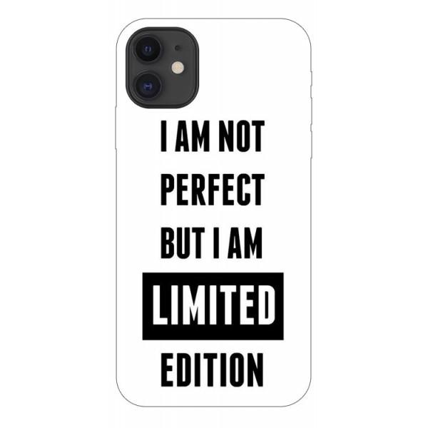 Husa Premium Upzz Print iPhone 11 Model Limited Edition imagine itelmobile.ro 2021