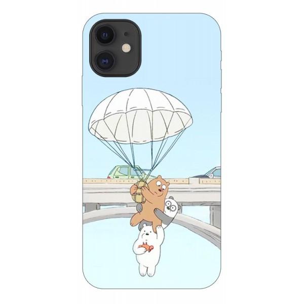 Husa Premium Upzz Print iPhone 11 Model Three Bears imagine itelmobile.ro 2021