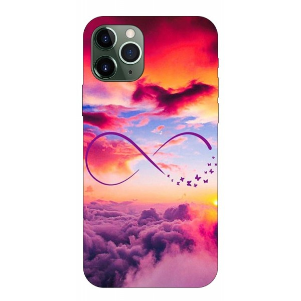 Husa Premium Upzz Print iPhone 11 Pro Model Infinity imagine itelmobile.ro 2021