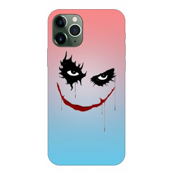 Husa Premium Upzz Print iPhone 11 Pro Model Joker imagine itelmobile.ro 2021