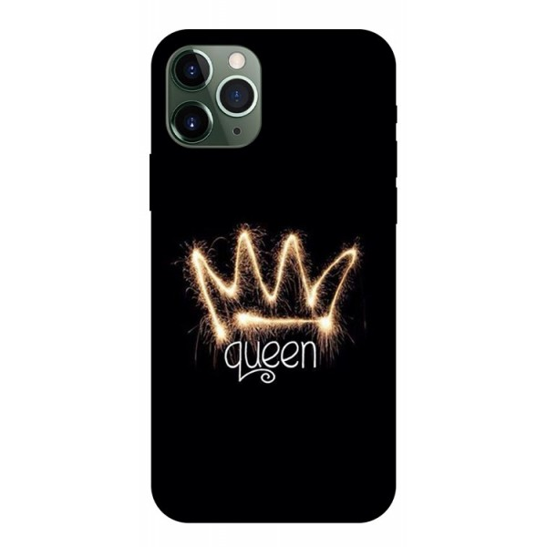 Husa Premium Upzz Print iPhone 11 Pro Model Queen imagine itelmobile.ro 2021