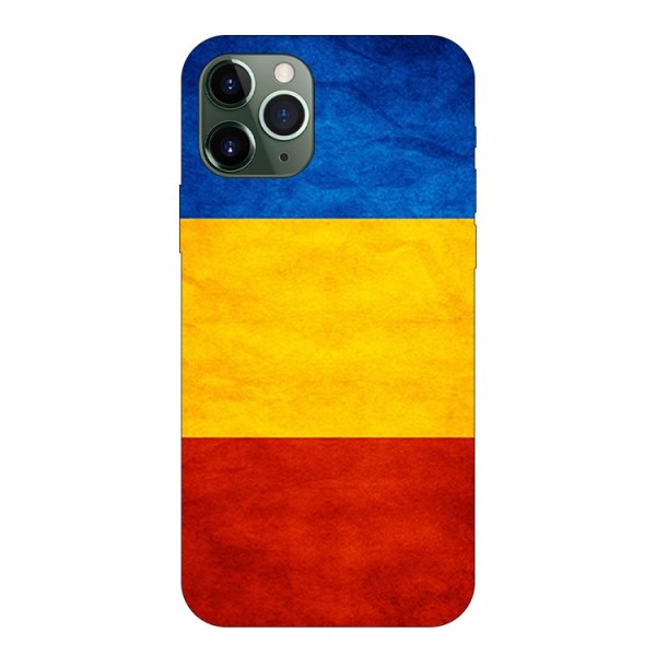 Husa Premium Upzz Print iPhone 11 Pro Model Tricolor imagine itelmobile.ro 2021
