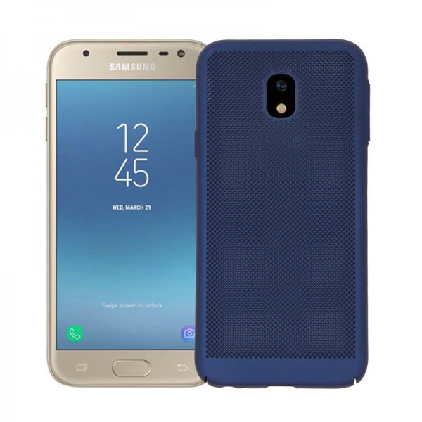 Husa Lux Hard Ultra Slim Air-up Samsung J3 2017 J330 Dark Blue imagine itelmobile.ro 2021