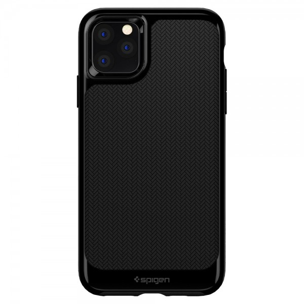 Husa Premium Originala Spigen Neo Hybrid iPhone 11 Pro Midnight Black imagine itelmobile.ro 2021