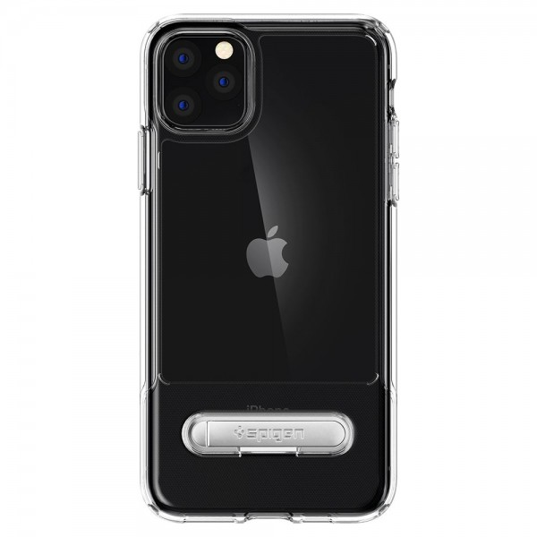 Husa Premium Originala Spigen Slim Armor Essential S iPhone 11 Pro Transparenta imagine itelmobile.ro 2021