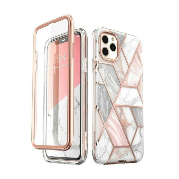 Husa Premium Originala 360 Grade Supcase Cosmo iPhone 11 Pro Marble imagine itelmobile.ro 2021
