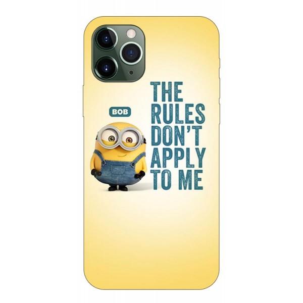 Husa Premium Upzz Print iPhone 11 Pro Max Model Bob imagine itelmobile.ro 2021