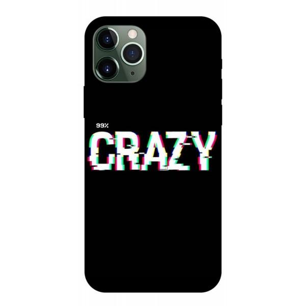 Husa Premium Upzz Print iPhone 11 Pro Max Model Crazy imagine itelmobile.ro 2021
