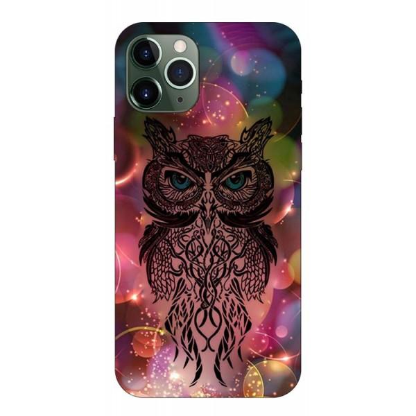 Husa Premium Upzz Print iPhone 11 Pro Max Model Sparkle Owl imagine itelmobile.ro 2021