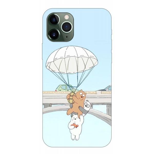 Husa Premium Upzz Print iPhone 11 Pro Max Model Three Bears imagine itelmobile.ro 2021