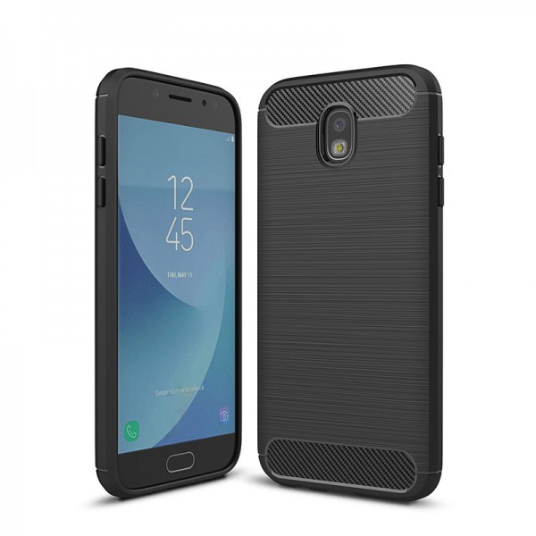 Husa Spate Forcell Carbon Pro Samsung J3 2017 J330 Black imagine itelmobile.ro 2021